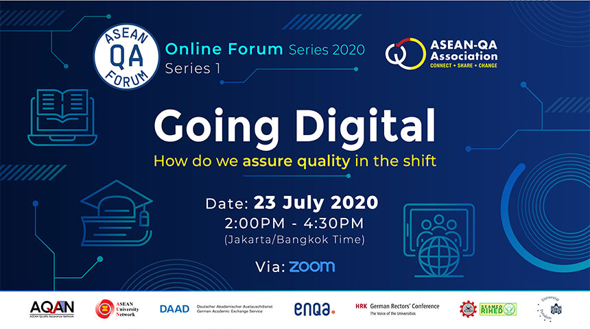 ASEAN-QA Online Forum Series 2020 | July 23, 2020, 2:00 pm (Jakarta/Bangkok time, GMT +7) via zoom